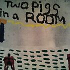 Two pigs in a room by tinytriumphs
