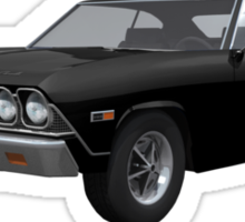 Black 1968 Chevelle SS Sticker