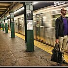 Waiting for the Train by Mikell Herrick