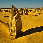 Pinnacles One by Werner Padarin