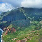 Rainbow over Kauai by kcy011