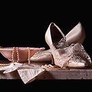 Bridal Shoes & Lace by Rachel Slepekis