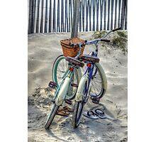 Beach Transportation Photographic Print