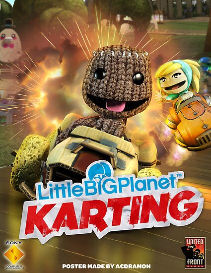 LittleBigPlanet Karting Burn Rubber by acdramon