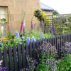 Cottage Garden at Oatlands by Wendy Dyer