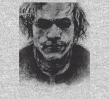 Heath Ledger-Joker by hasanabbas