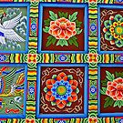 Patterns and Paintings - Bongeunsa Ceiling by TonyCrehan