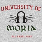 UNIVERSITY OF MORIA VARSITY TOP by w1ckerman