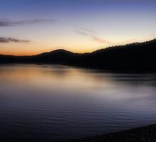 Sunrise At Broken Bow Lake by Carolyn  Fletcher