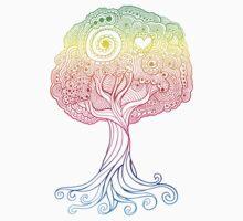 Rainbow Tree by Jardo de la Pena