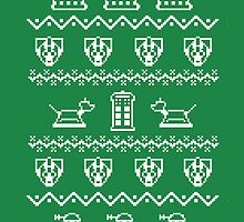 Timey Wimey Christmas (Green) by Fanboy30