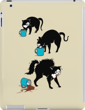 Coffee Cat by BootsBoots