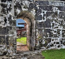Fort Charlotte in Nassau, The Bahamas  by Jeremy Lavender Photography
