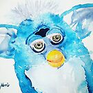 Blue Furby by Ruth S Harris