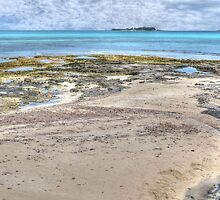 Ocean view from West Bay Street in Nassau, The Bahamas by 242Digital