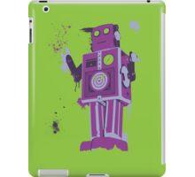 Green Tin Robot Splattery Shirt or iPhone Case iPad Case/Skin
