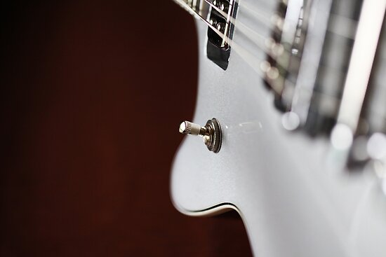 Guitar Abstract by Karol Livote