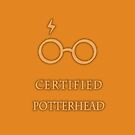 Certified Potterhead (Orange) by thegadzooks