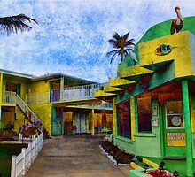 Florida Motel on the Ocean by Dennis Granzow