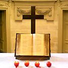 Bible & Cross by Christophe Claudel