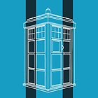 Tardis Light Blue (iPad and iPhone) by thegadzooks