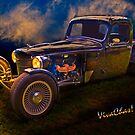 Hot Rod 35 Dodge Brothers Pickup Truck by ChasSinklier