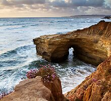 Sunset Cliffs San Diego by Gareth Spiller