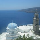 Greek Island Church in Samos 1 by SlavicaB