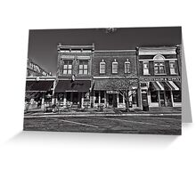 Two-Bit Street  Welcome Greeting Card