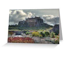 Lindisfarne Castle (Holy Island) Greeting Card