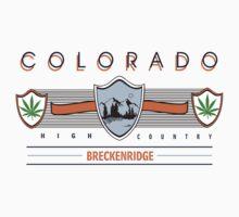 Marijuana Brechenridge Colorado by MarijuanaTshirt