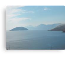 Magnifiscient Greek Islands Canvas Print