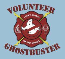 Volunteer Ghostbuster (Clean) Kids Clothes