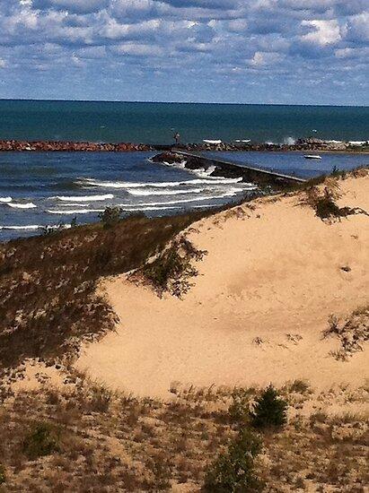 the dunes by Eve Landsman