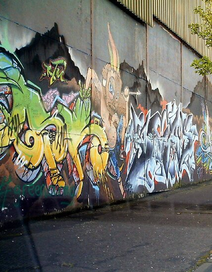 peace wall mural 2 by Kevin McLaughlin