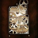 Walnut and Brass Steampunk cover. by Confundo