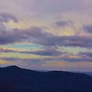 Purple Mountain Panorama by Scott Mitchell