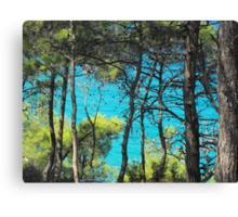 Greek Island Beach Samos 2 #photography Canvas Print