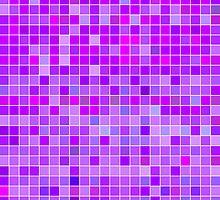 Purple Mosaic [iPhone / iPad / iPod Case] by Damienne Bingham
