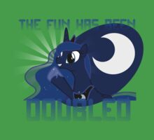 """Princess Luna """"The Fun Has Been Doubled"""" Kids Clothes"""