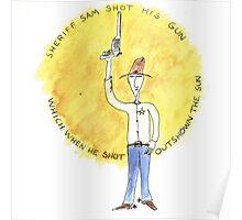 Sheriff Sam Poster