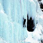 Ice Climbing by Caren della Cioppa