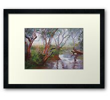 Moorabool Reflections Framed Print