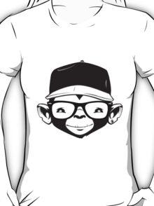 Hipster Monkey T-Shirt