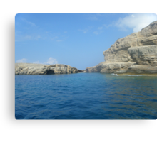 Greek Island Lipsi Beauty #photography Canvas Print