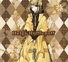 Helga Hufflepuff by YuzuSmiile