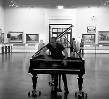 The Piano Player by John Holding
