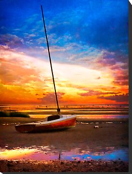Sunset Sail by Tammy Wetzel