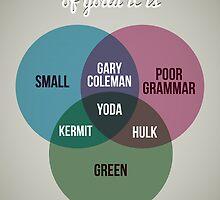 Diagram venn, of Yoda it is by Stephen Wildish