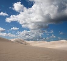 White Sand Dunes at Nambung National Park 2 by Leonie Mac Lean